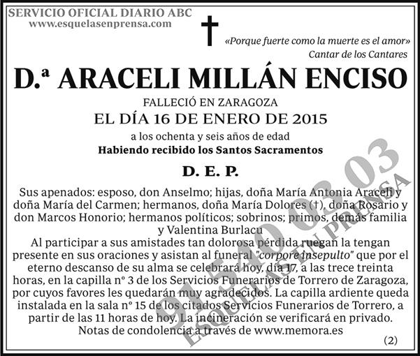 Araceli Millán Enciso